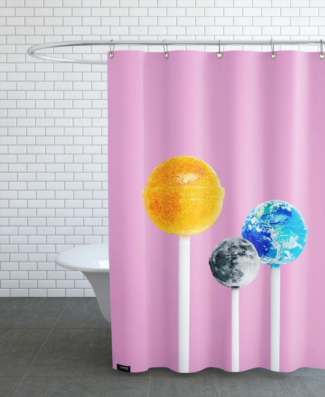 Lollipops -Duschvorhang