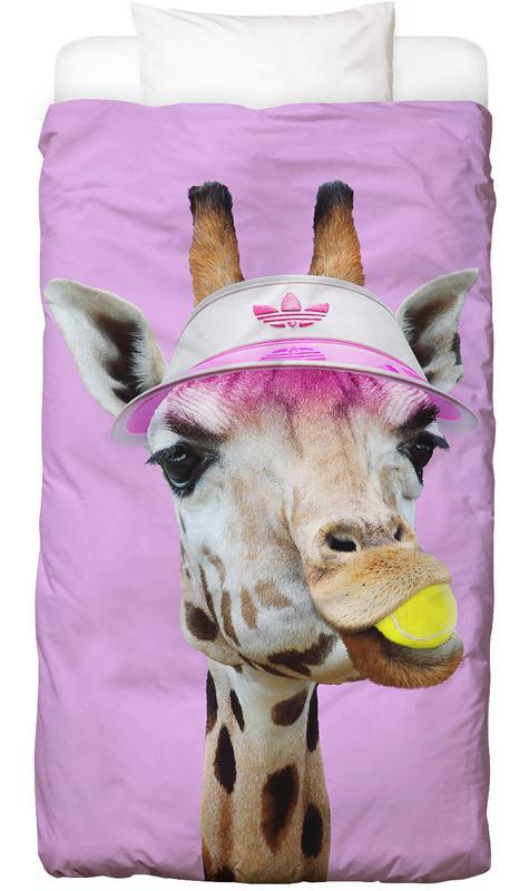 Tennis Giraffe Kids' Bedding
