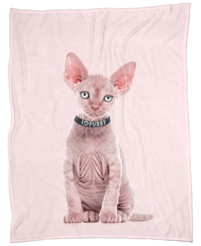 All Cats Are Beautiful Fleece Blanket