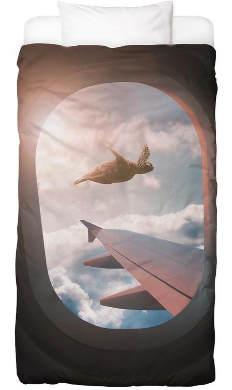 Flying Turtle Bettwäsche   Heimtextilien > Bettwäsche und Laken > Bettwäsche-Garnituren   Mehrfarbig   Baumwolle