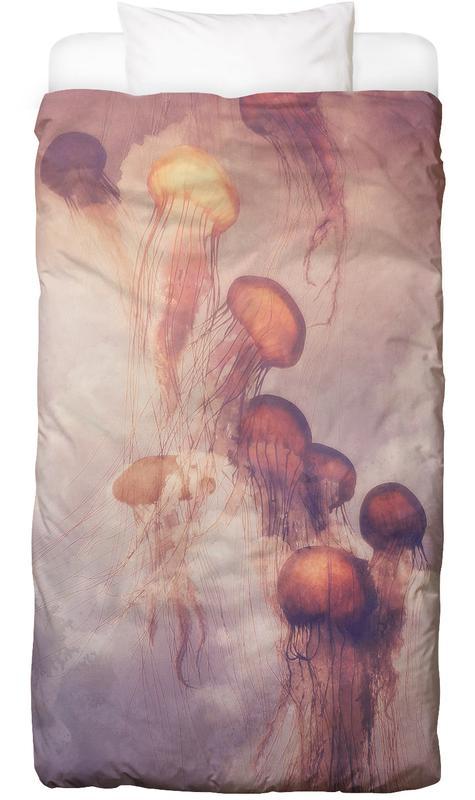 Jellyfish Sky Linge de lit
