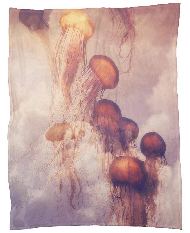 Jellyfish Sky Fleece Blanket