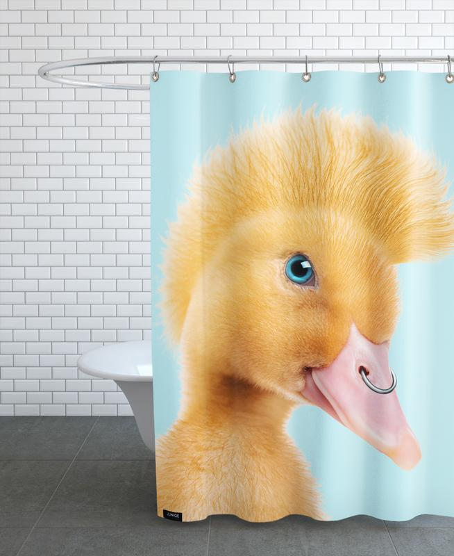 Rebel Duckling Shower Curtain