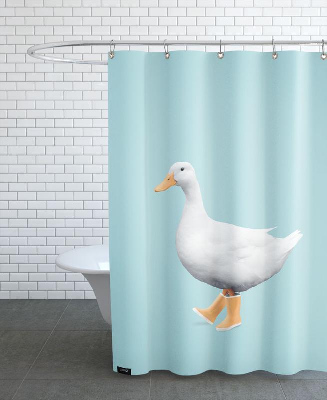 Duck Boots Shower Curtain