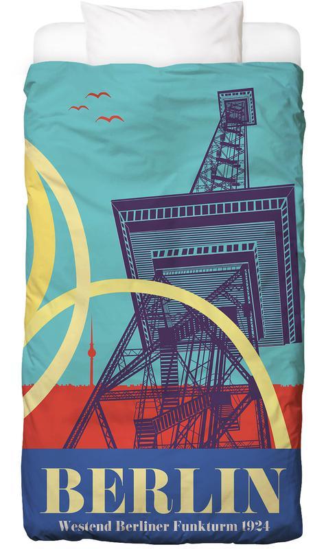 Berlin Funkturm -Kinderbettwäsche