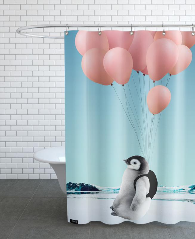 Penguin Duschvorhang | Bad > Duschen > Duschvorhänge | Mehrfarbig | Polyester
