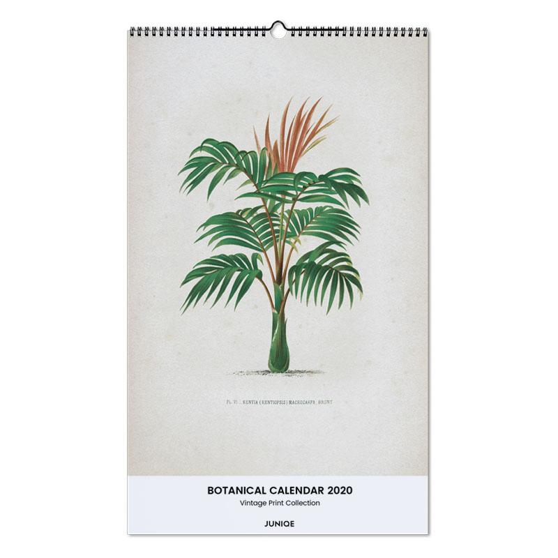 Botanical Calendar 2020 - Vintage Print Collection -Wandkalender