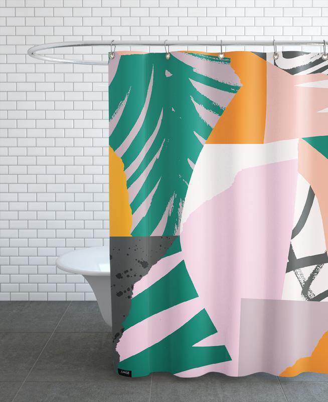 Galapagos Duschvorhang   Bad > Duschen > Duschvorhänge   Mehrfarbig   Polyester
