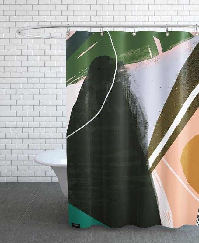 Swamp Duschvorhang   Bad > Duschen > Duschvorhänge   Mehrfarbig   Polyester