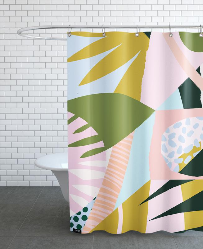 Untitled Duschvorhang | Bad > Duschen > Duschvorhänge | Mehrfarbig | Polyester