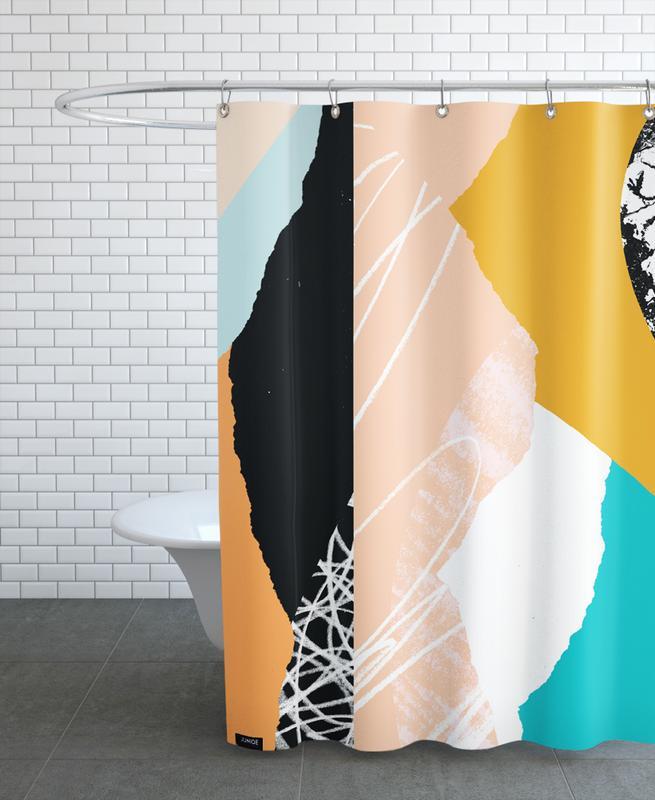 Morning Sunrise Duschvorhang | Bad > Duschen > Duschvorhänge | Mehrfarbig | Polyester