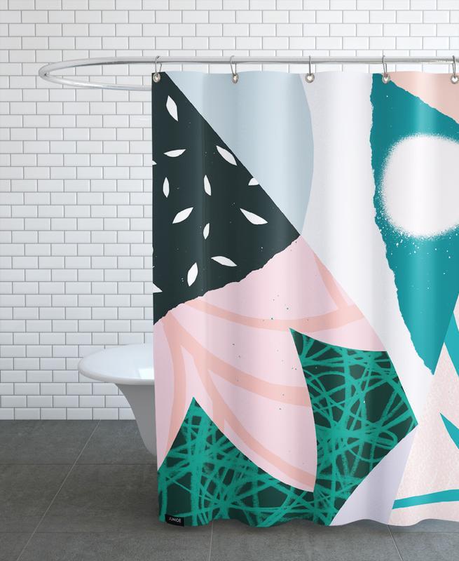 Ambience Duschvorhang | Bad > Duschen > Duschvorhänge | Mehrfarbig | Polyester