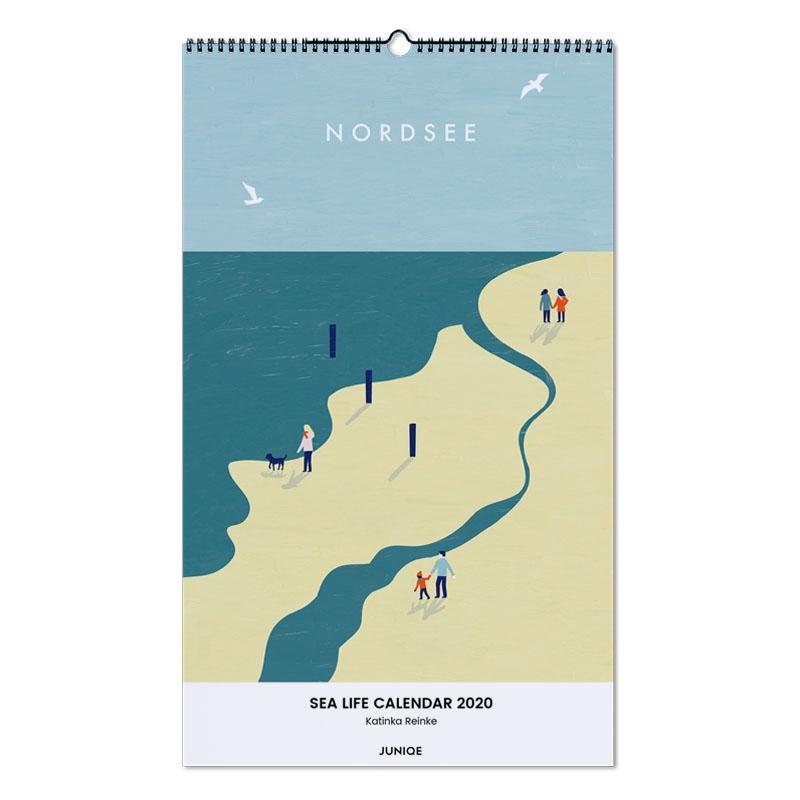 Sea Life Calendar 2020 - Katinka Reinke Wall Calendar