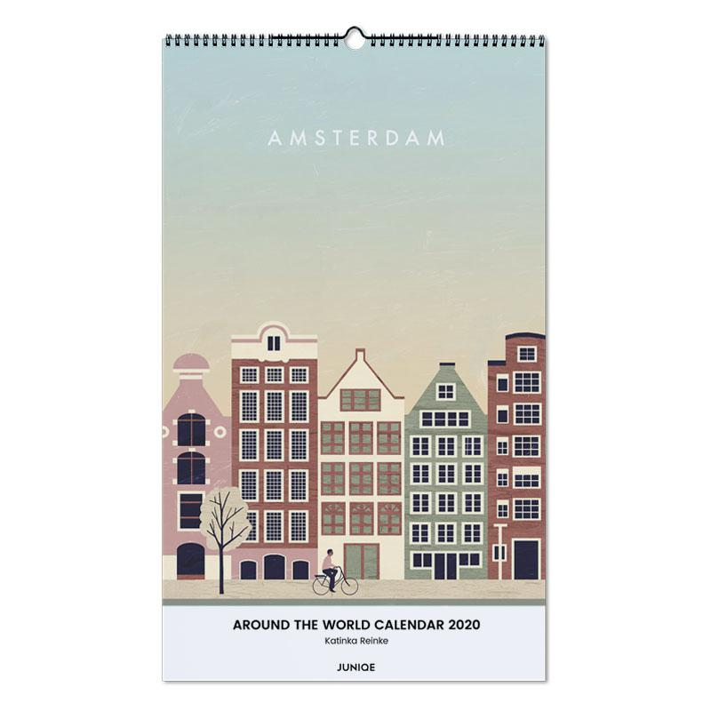 Around The World Calendar 2020 - Katinka Reinke Wall Calendar