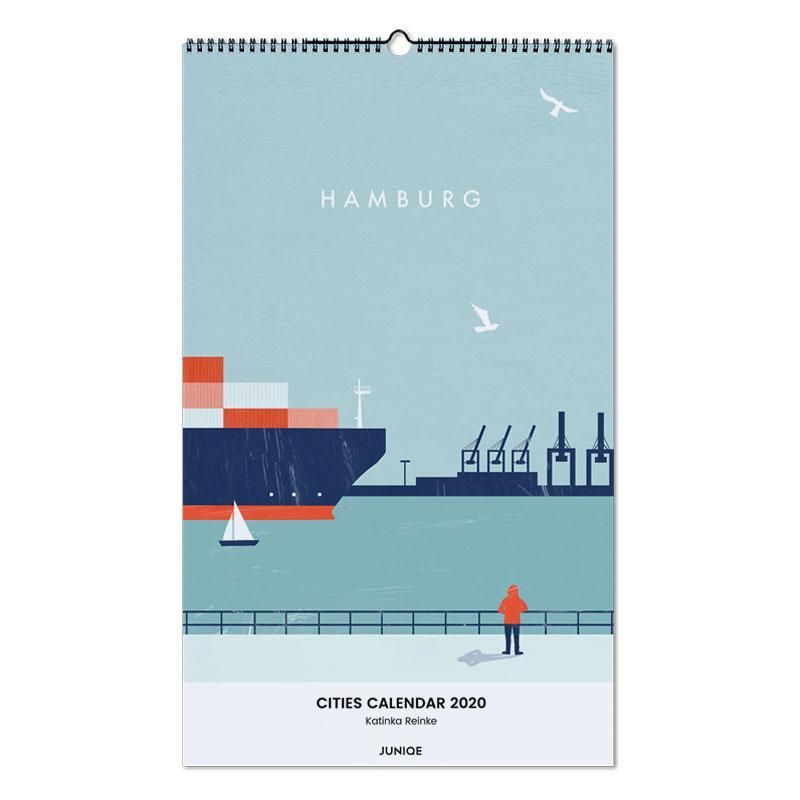Cities Calendar 2020 - Katinka Reinke Wall Calendar