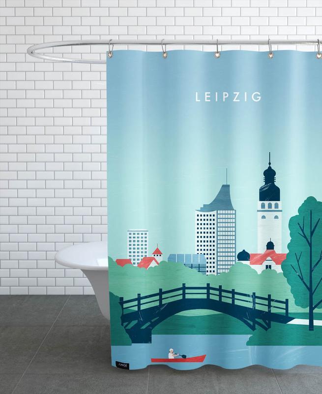 Leipzig Shower Curtain