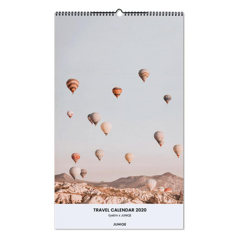 Travel Calendar 2020 - EyeEm x JUNIQE Wall Calendar