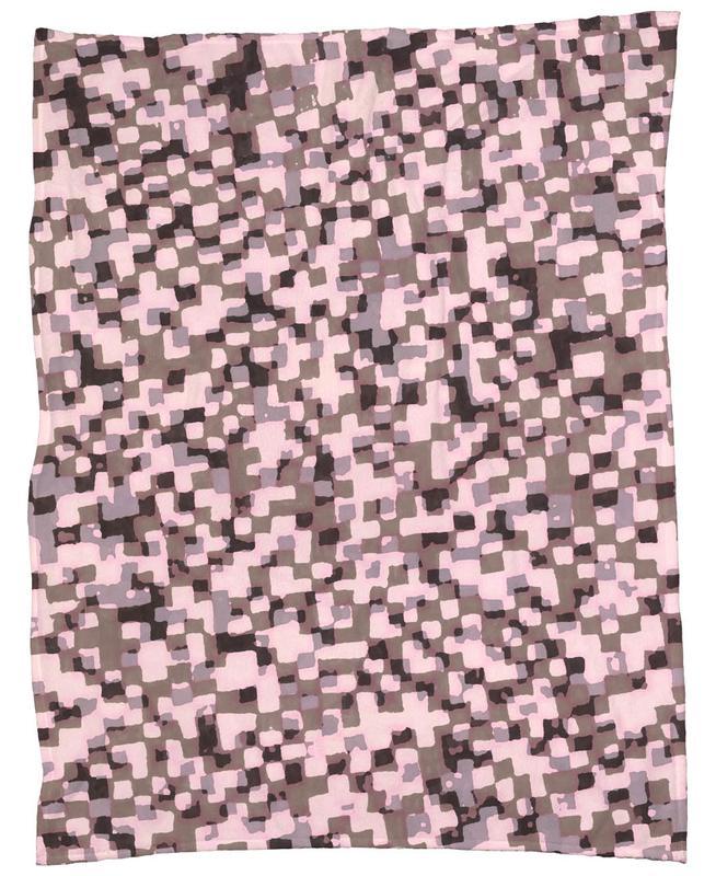 Sahkyi Black Fleece Blanket
