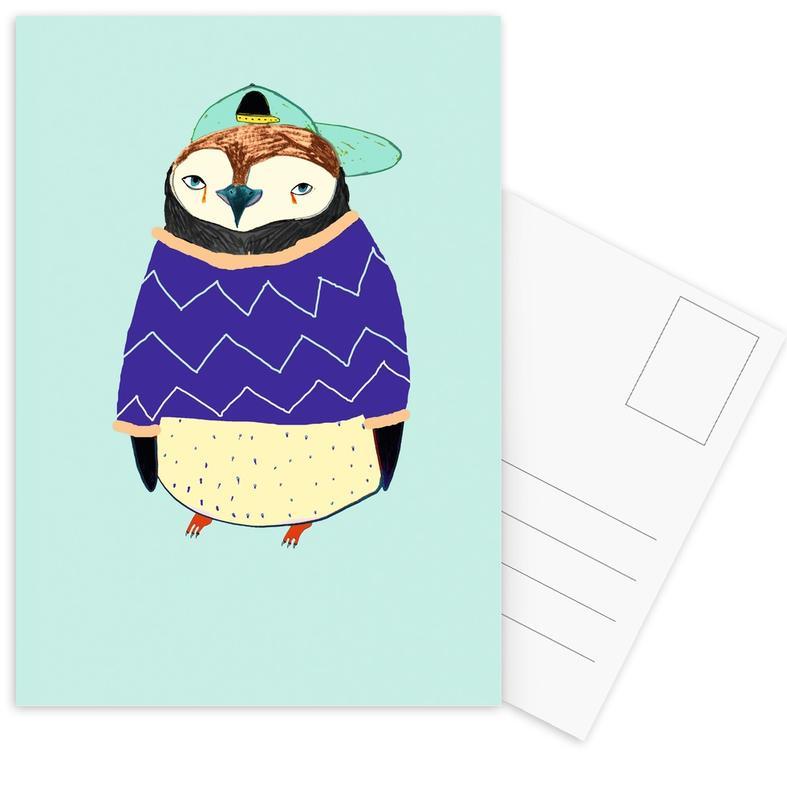 Pengy Postcard Set