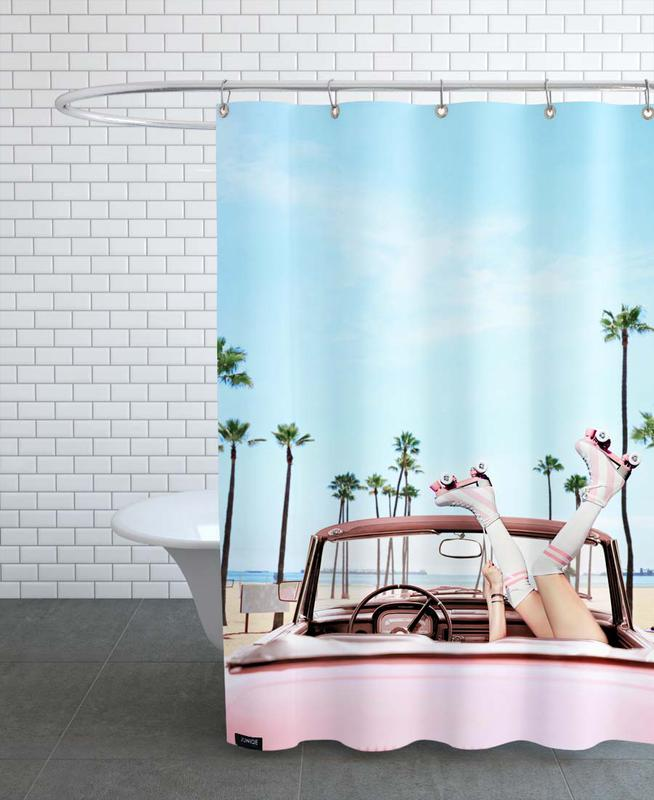 Long Beach -Duschvorhang