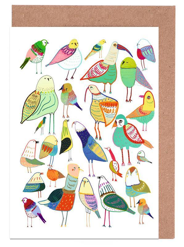 Birds New Grußkartenset