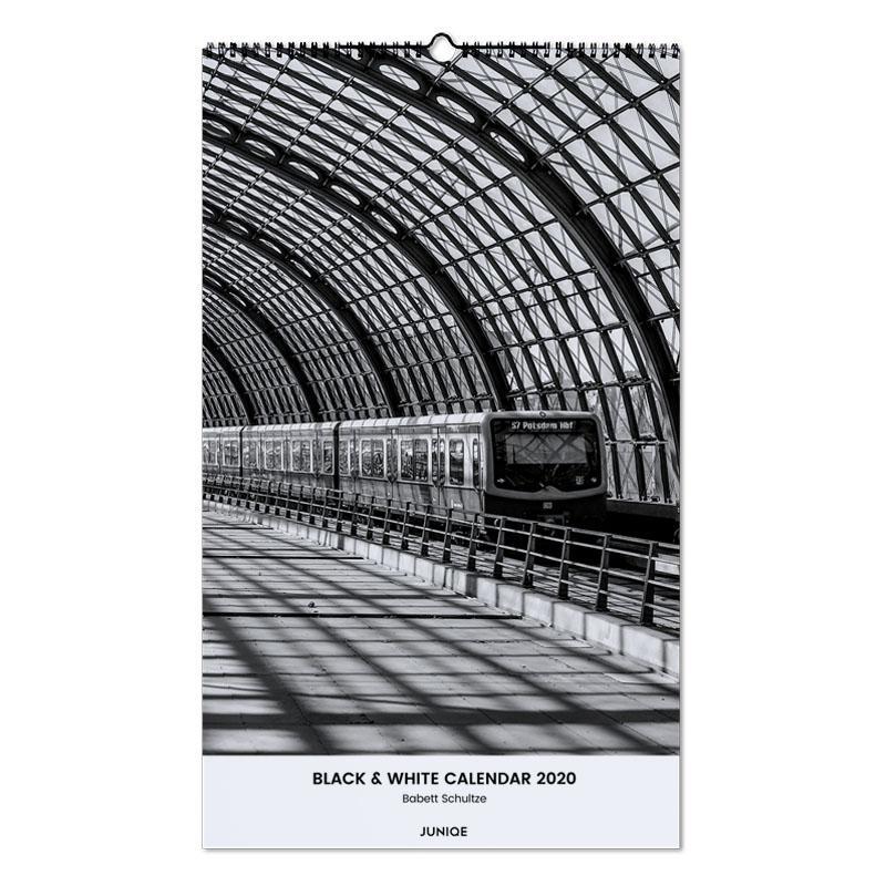 Black & White Calendar 2020 - Babett Schultze -Wandkalender