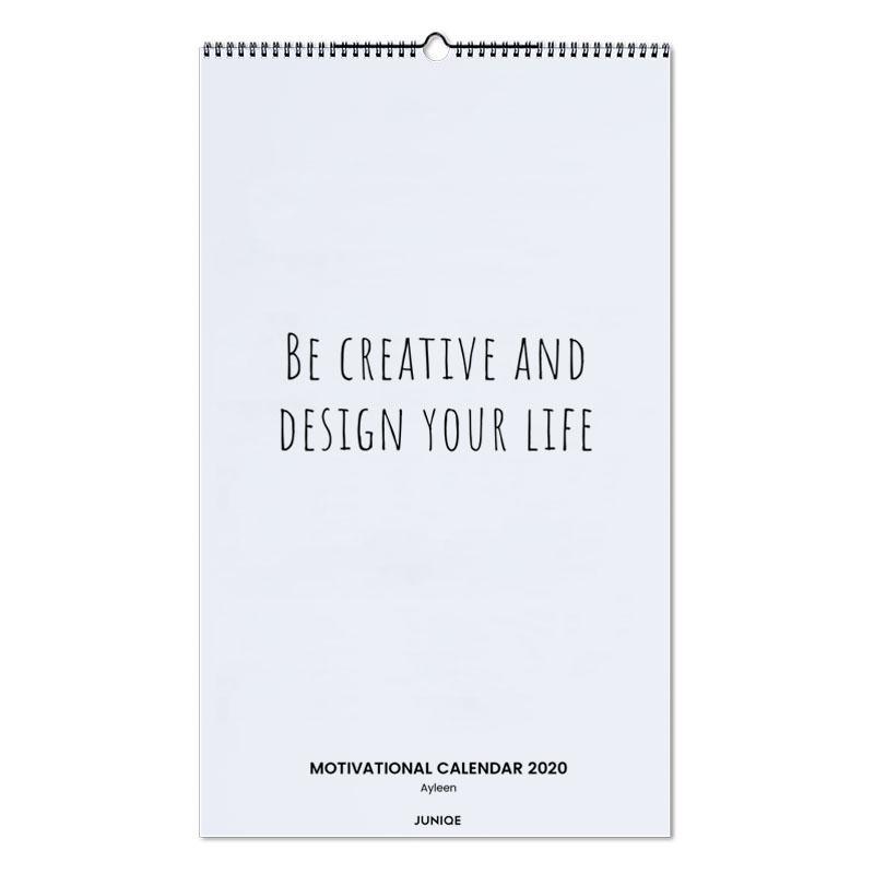 Motivational Calendar 2020 - Ayleen Wall Calendar