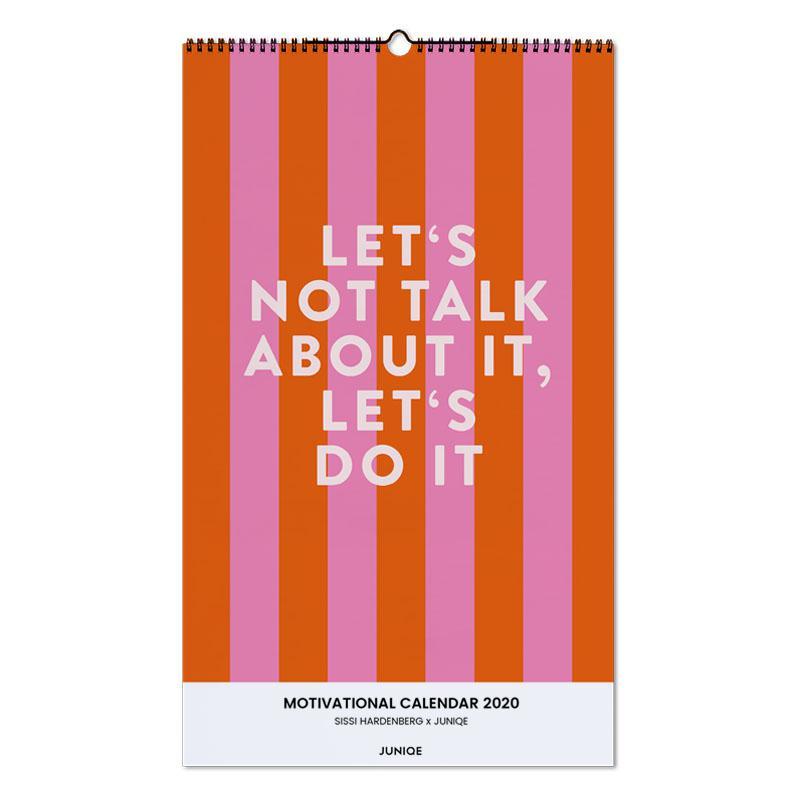 Motivational Calendar 2020 - SISSI HARDENBERG x JUNIQE -Wandkalender