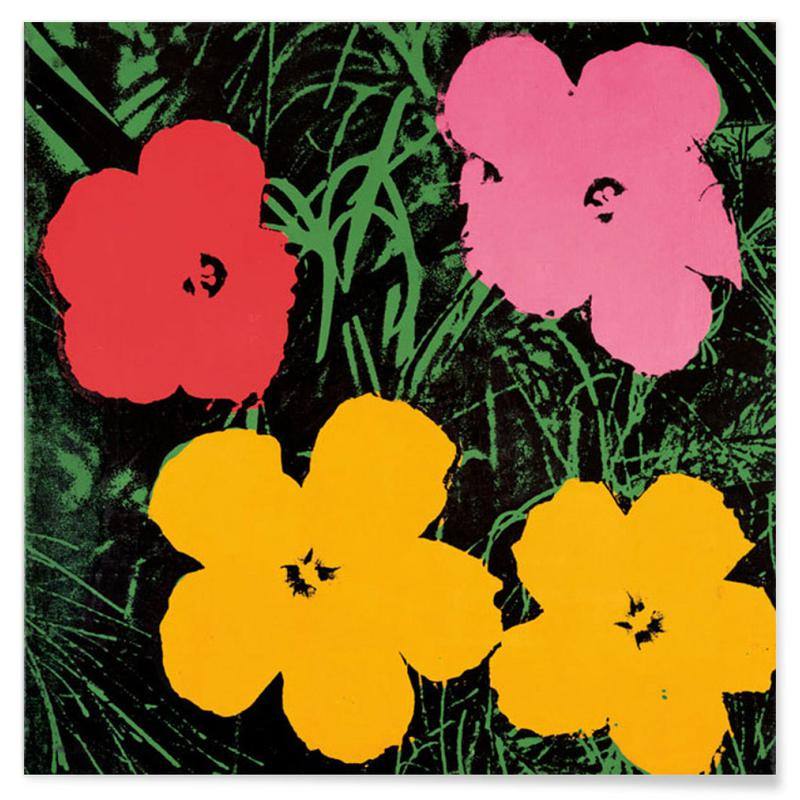Andy Warhol - Flowers, ca.1964 affiche