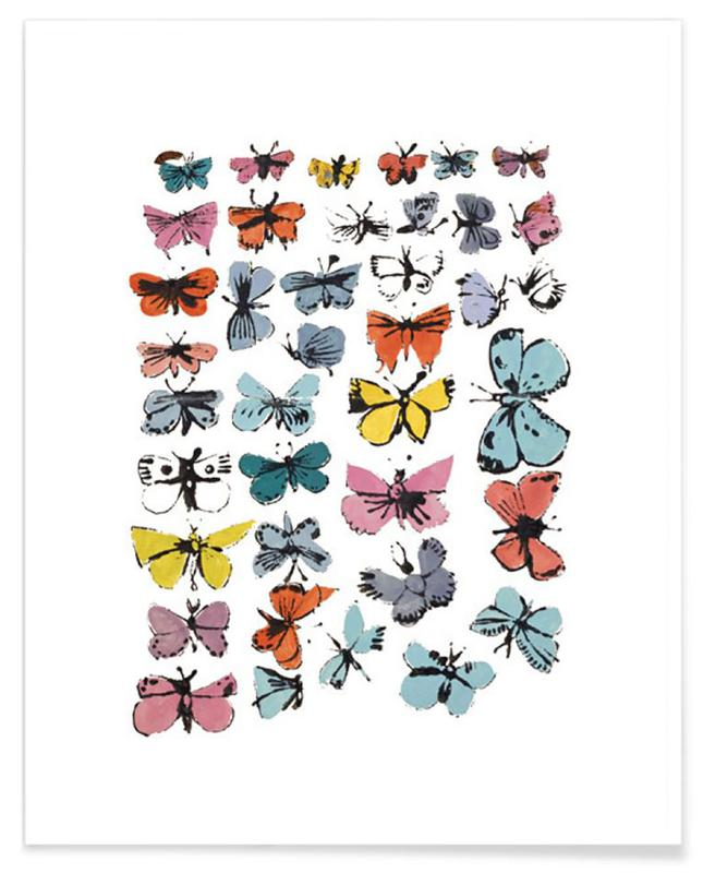 Andy Warhol - Butterflies, 1955 poster