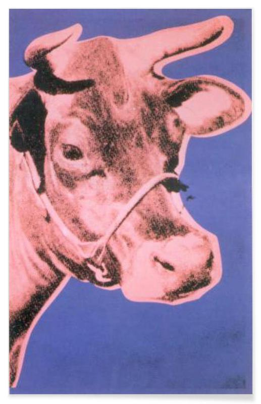 Andy Warhol - Cow, 1976 Poster