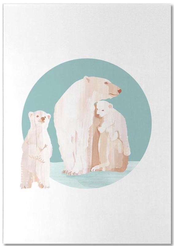 Snow Cuddles -Notizblock