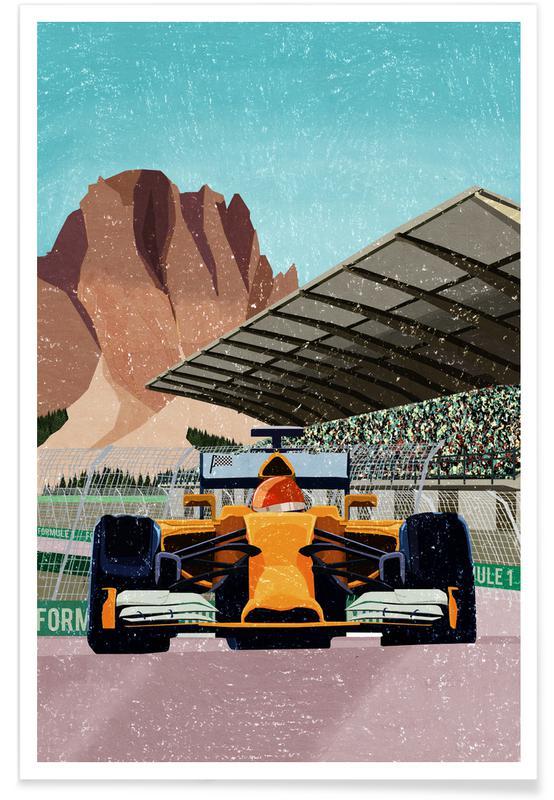 Formule 1 poster