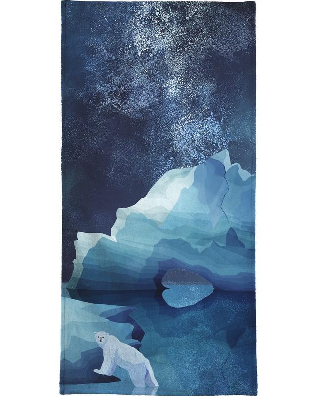 Polar Bear by Night -Handtuch