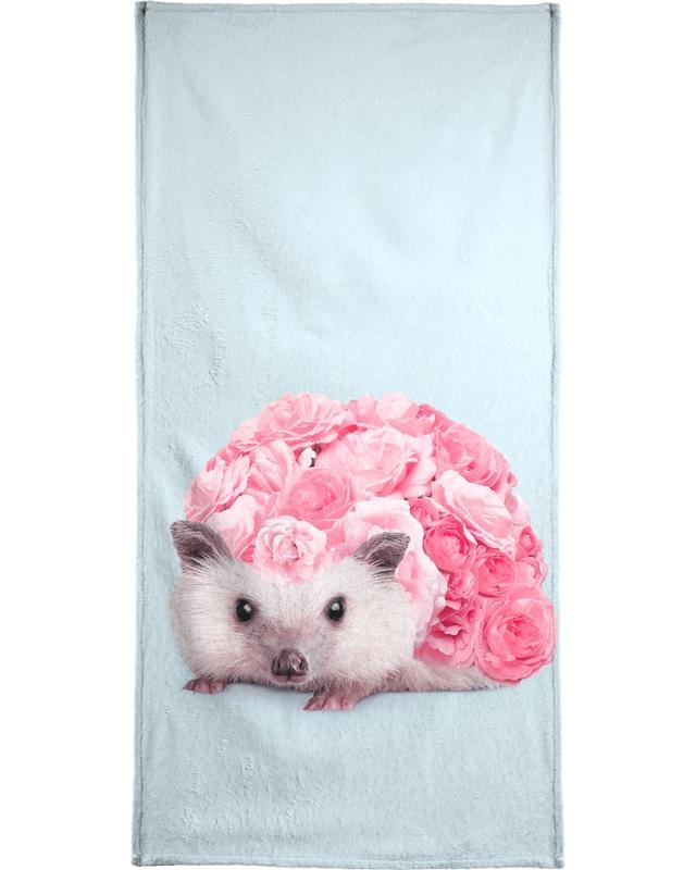 Hedgerosehog serviette de plage