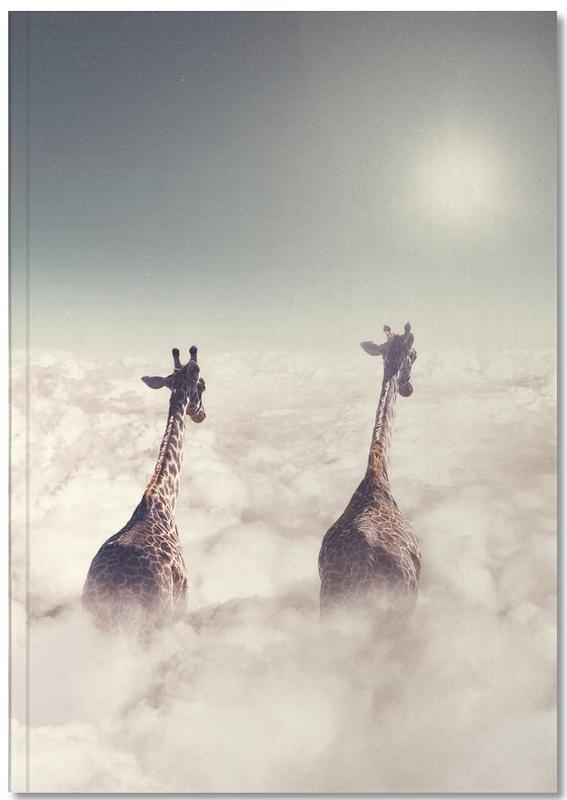 Giant Giraffes Premium Notizbuch | Dekoration > Accessoires | Mehrfarbig | Papier