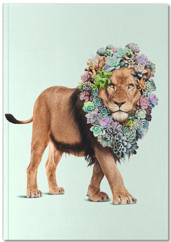 Succulent Lion Premium Notizbuch | Dekoration > Accessoires | Mehrfarbig | Papier