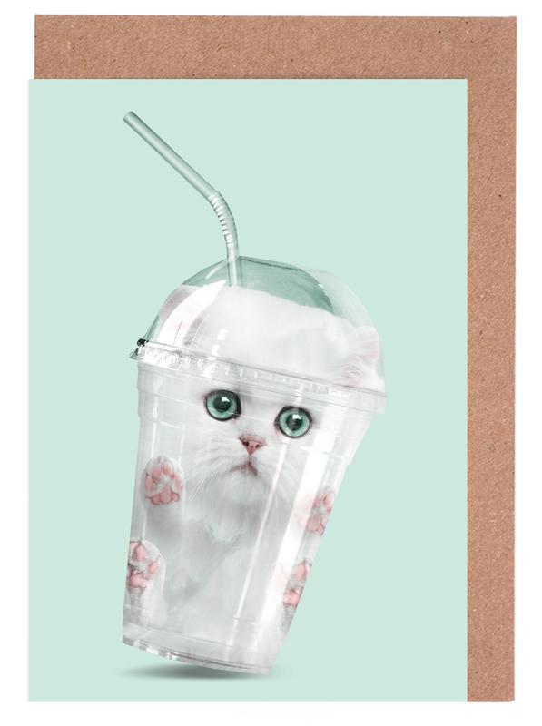 Catshake -Grußkarten-Set