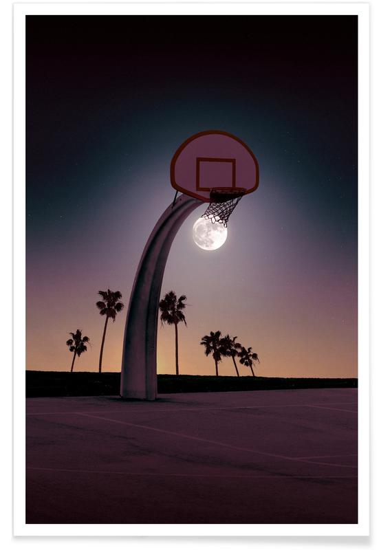 Basketmoon Poster
