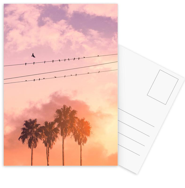 Birds on a Wire Postcard Set