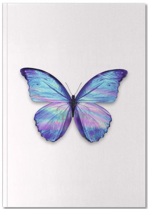 Holographic Butterfly Notebook