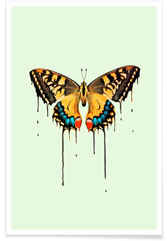 Melting Butterfly -Poster