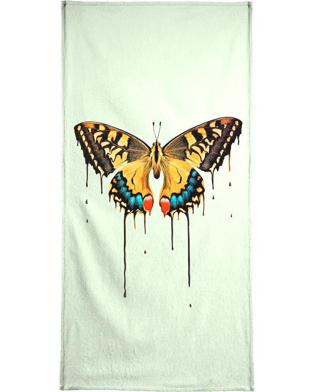 Melting Butterfly Beach Towel