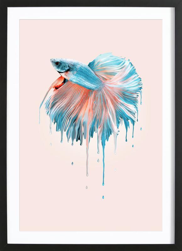 Melting Fish Framed Print
