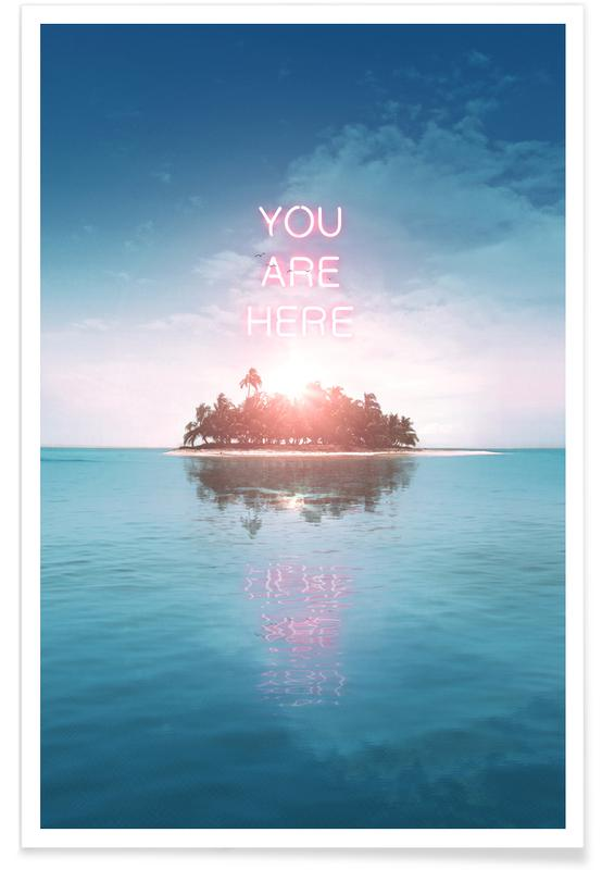 You Are Here -Poster