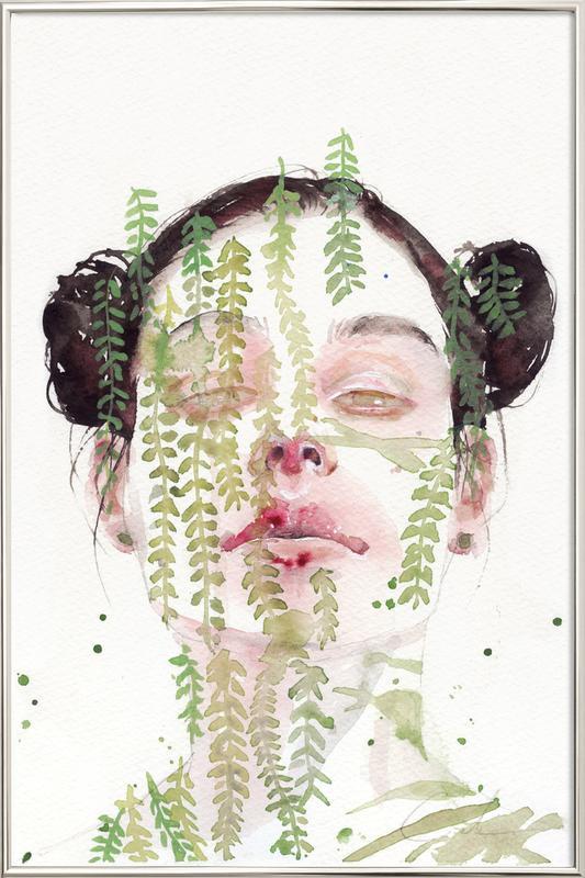 Garden IX Poster im Alurahmen | Dekoration > Bilder und Rahmen > Poster | Mehrfarbig