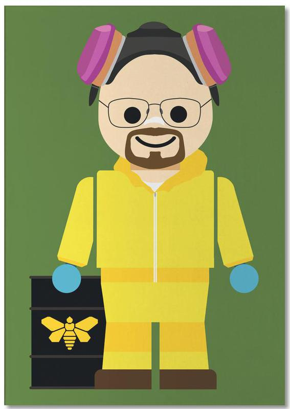 Walter White Heisenberg Toy Notepad
