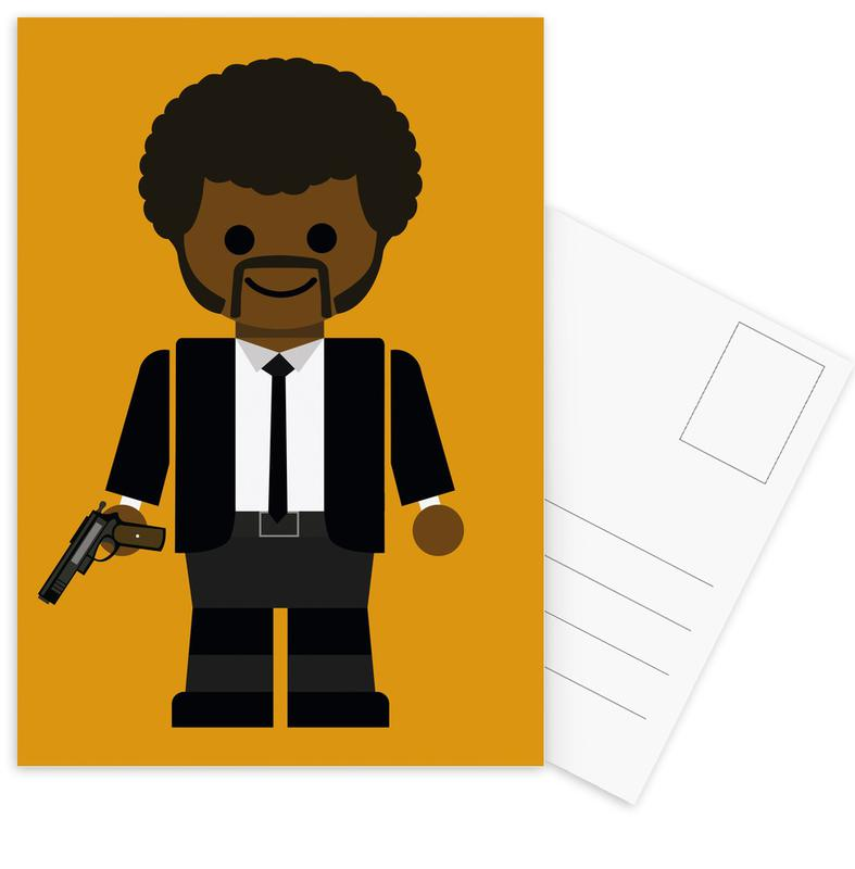 Pulp Fiction Toy 02 Postcard Set