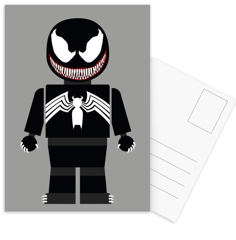 Venom Toy -Postkartenset