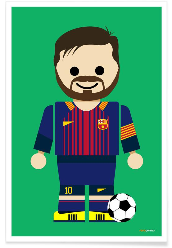 Messi Toy -Poster